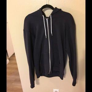 American Apparel Navy Blue hoodie